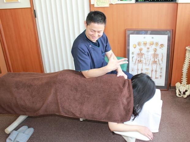 施術中の写真2